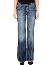 Gaudì Jeans - Denim Trousers - Lyst