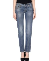 Tejido - Denim Trousers - Lyst