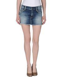 HTC - Denim Shorts - Lyst