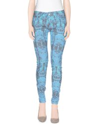 Romeo and Juliet Couture - Denim Trousers - Lyst