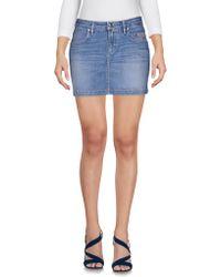 Siviglia | Denim Skirt | Lyst