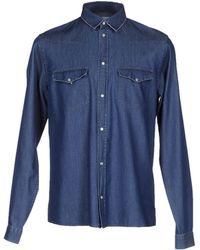 April77 - Denim Shirt - Lyst
