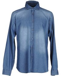 Pedro Del Hierro Madrid - Denim Shirt - Lyst