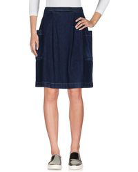 TRUE NYC - Denim Skirt - Lyst