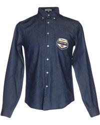Geox - Denim Shirt - Lyst
