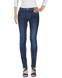 Tara Jarmon - Denim Trousers - Lyst