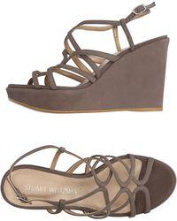 Stuart Weitzman - Sandals - Lyst
