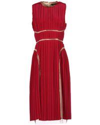 Marios Schwab - 3/4 Length Dress - Lyst