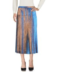 Dries Van Noten - 3/4 Length Skirt - Lyst