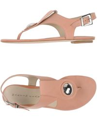 Martin Clay - Toe Strap Sandal - Lyst