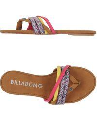 Billabong - Toe Strap Sandal - Lyst
