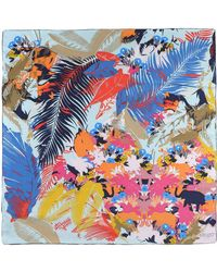 KENZO - Square Scarves - Lyst
