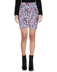 ELEVEN PARIS - Mini Skirt - Lyst