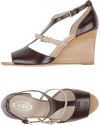 Tod's - Sandals - Lyst