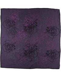 Silk And Cashmere - Square Scarf - Lyst
