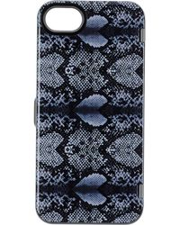 Marc By Marc Jacobs - Snake Heart Print Iphone 5/5S Case In Grey Multi - Lyst