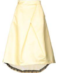 Lunatic - 3/4 Length Skirt - Lyst