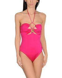 Plein Sud - One-piece Swimsuit - Lyst