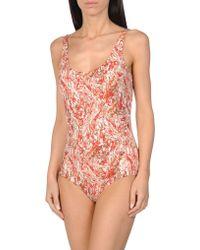 Bottega Veneta - One-piece Swimsuit - Lyst