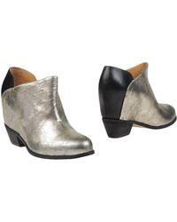 MM6 by Maison Martin Margiela - Shoe Boots - Lyst