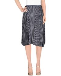 Theory - 3/4 Length Skirts - Lyst