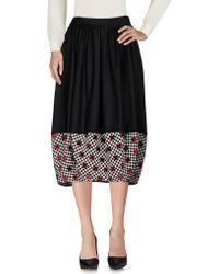 Ultrachic - 3/4 Length Skirt - Lyst