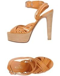 Michel Perry - Sandals - Lyst