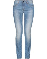 Victoria Beckham - Denim Pants - Lyst