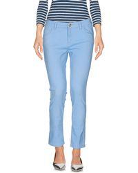 Blumarine | Denim Trousers | Lyst