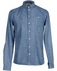 Minimum - Denim Shirt - Lyst