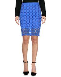 Caban Romantic - Knee Length Skirt - Lyst