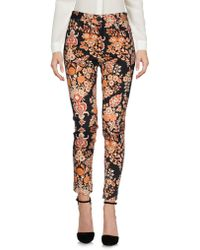Vivienne Westwood Anglomania - Floral Pattern Skinny Trousers - Lyst