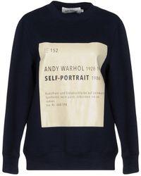 Self-Portrait - Sweatshirt - Lyst