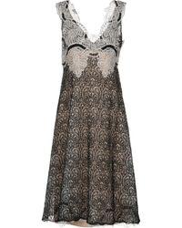 Ermanno Scervino - 3/4 Length Dress - Lyst