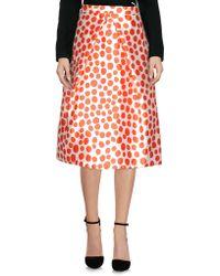 Roberto Avolio - 3/4 Length Skirt - Lyst