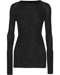 Enza Costa Sweater - Black