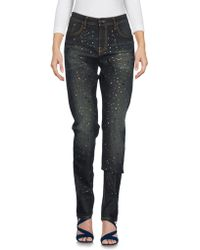 Pinko - Denim Trousers - Lyst