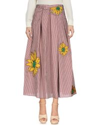 Annie P - 3/4 Length Skirts - Lyst