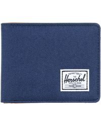 Herschel Supply Co. - Navy Roy Two-Tone Wallet - Lyst