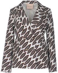 Erika Cavallini Semi Couture - Blazer - Lyst