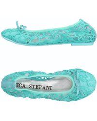Luca Stefani - Ballet Flats - Lyst