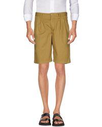 Aspesi - Bermuda Shorts - Lyst