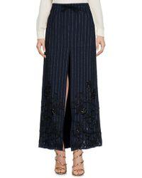 Filles A Papa - Long Skirts - Lyst
