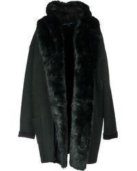 French Connection - Overcoat - Lyst