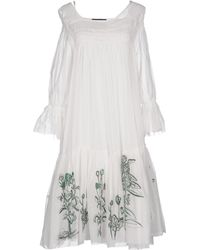 Erika Cavallini Semi Couture - Knee-length Dress - Lyst