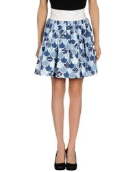 Olympia Le-Tan - Cotton Fish Scale Skirt - Lyst