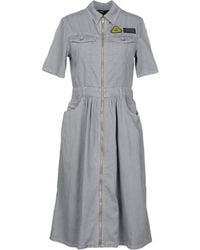 DIESEL - Knee-length Dress - Lyst