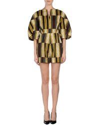 Stella Jean - Marzaiola Striped Short Jumpsuit - Lyst