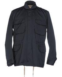 YMC - Overcoat - Lyst