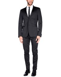 Grey Daniele Alessandrini - Suit - Lyst
